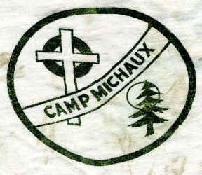 church camp sign was at the intersection of PineGrove Road and Michaux