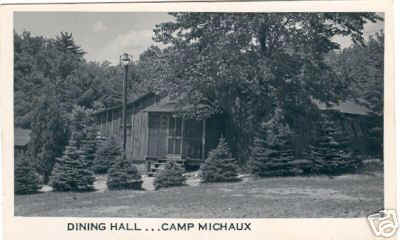 dock for the camp kitchen/dinning hall is at the end of the main camp